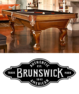 Tables de billard - Collection Brunswick