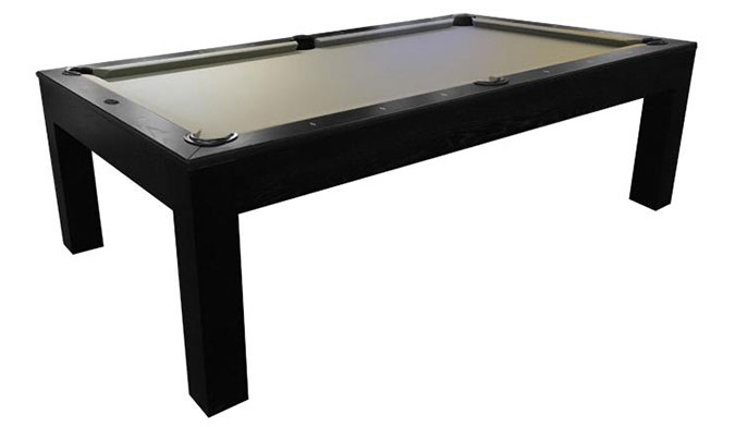 Table de Billard Majestic Mensa noir moderne