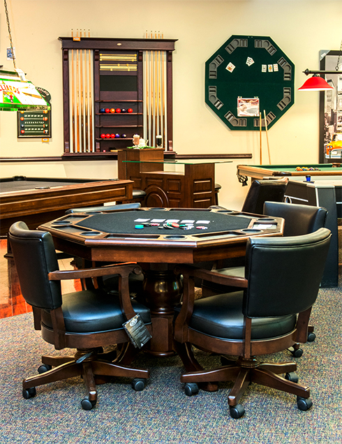 Table de poker de marque LEGACY Sterling